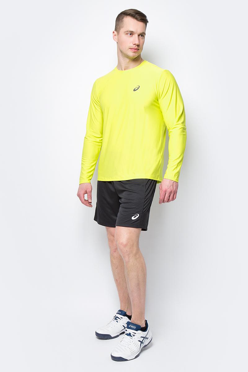 Шорты мужские Asics Short, цвет: черный. 155239-0904. Размер XL (50) шорты мужские asics gpx knit short 9in цвет черный 141095 0904 размер xxl 54 56