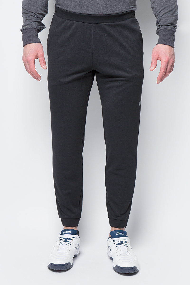 Брюки спортивные мужские Asics Knit Track Pant, цвет: черный. 153374-0904. Размер XXL (52) bgln 7pcs set mix hair nylon weasel hair professional watercolor paint brush watercolor painting brush stationery art supplies
