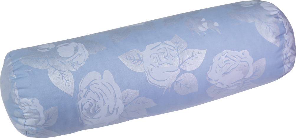 Подушка Bio-Textiles Валик, наполнитель: холлофайбер, 40 х 10 см подушки bio textiles подушка здоровый сон с искусственным лебяжьим пухом и овечьим мехом размер 40х40