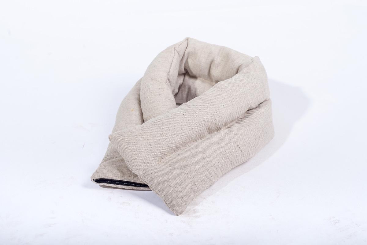 Подушка Bio-Textiles  Воротник. Уют-2 , наполнитель: семена льна, 15 х 60 см - Аптека