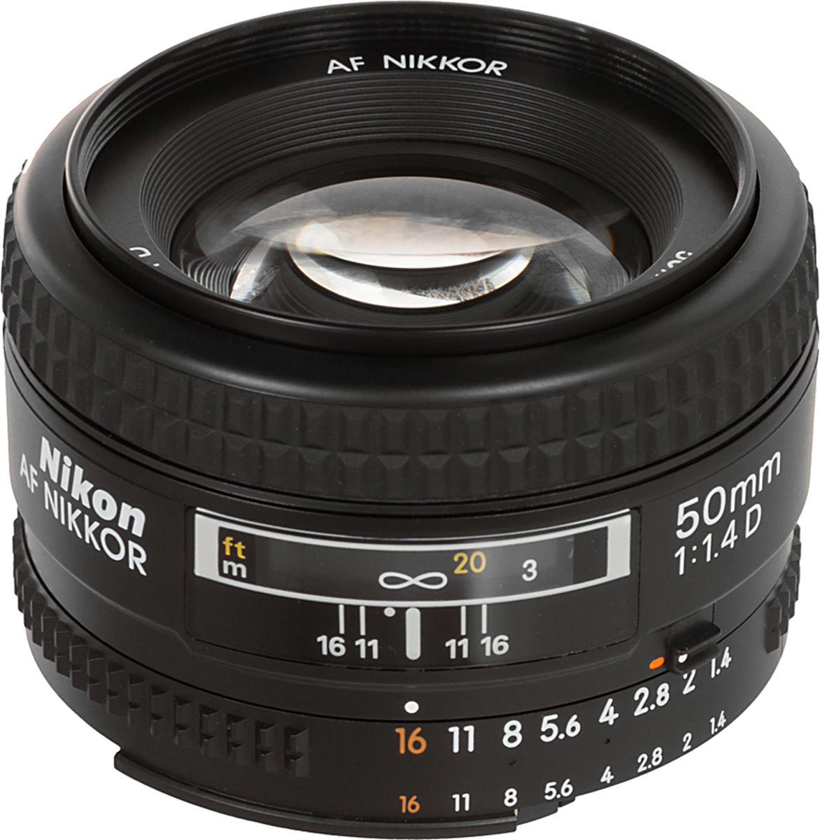 Nikon AF Nikkor 50mm F/1.4 объектив nikon af s nikkor 50mm f 1 4g
