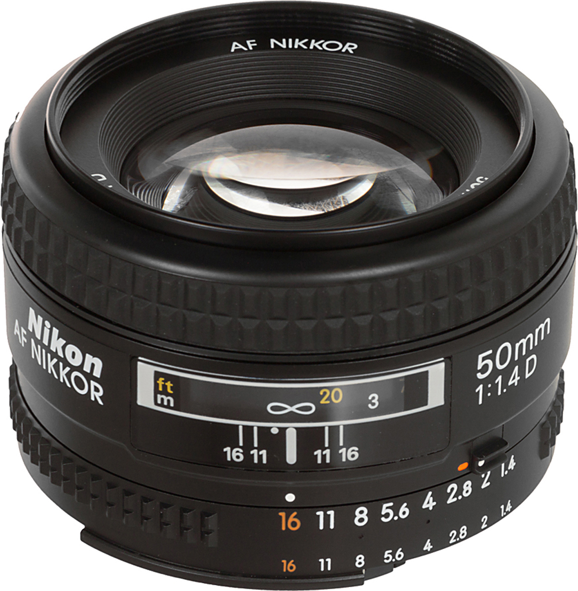 Nikon AF Nikkor 50mm F/1.4 объектив объектив samyang 20mm t1 9 ed as umc vdslr nikon f