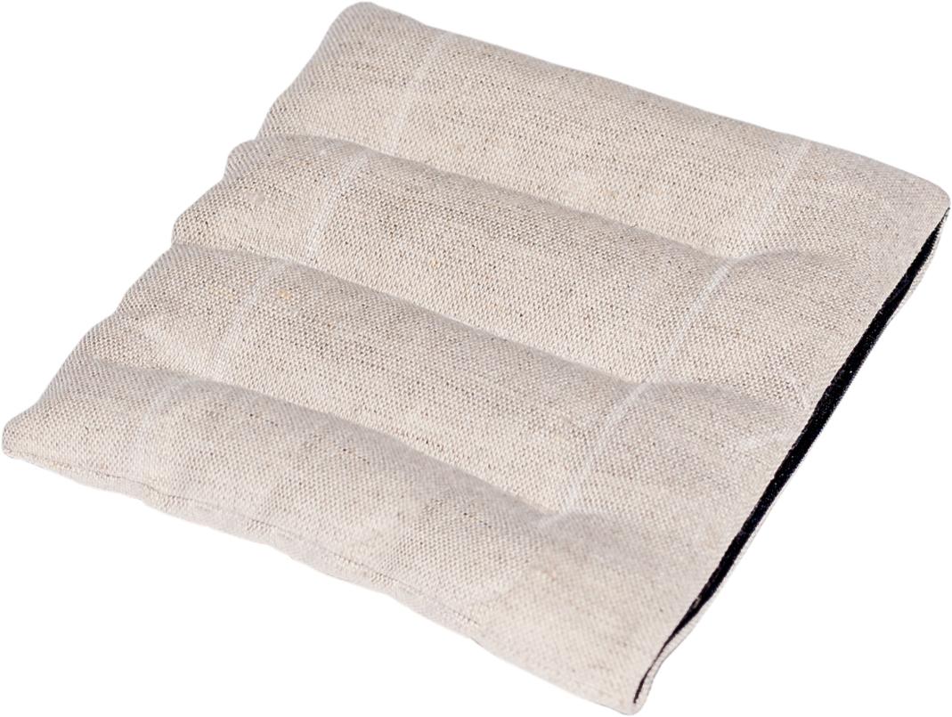 Подушка Bio-Textiles Комфорт-мини, наполнитель: семена льна, 16 х 16 смDL074Подушка Bio-Textiles Комфорт-мини идеально подходит для согревания отдельных участковтела. Она поможет вам справиться при болях, связанными с растяжениями и ушибами. В часыотдыха - рекомендуем положить подушечку под шею перед сном и она подарит вам нежное теплои поможет расслабиться.Подогретая подушка Комфорт-мини подойдет для прогревания ребенка в детской кроваткиили колясочке, убережет ребенка от дискомфортного контакта с холодной поверхностью и непотревожит его сон. Подушечку можно использовать в качестве холодного компресса при ушибах,растяжениях, ударах, головной боли, высокой температуре и т.д. Для этого необходимо положитьподушечку на несколько часов в холодильник.