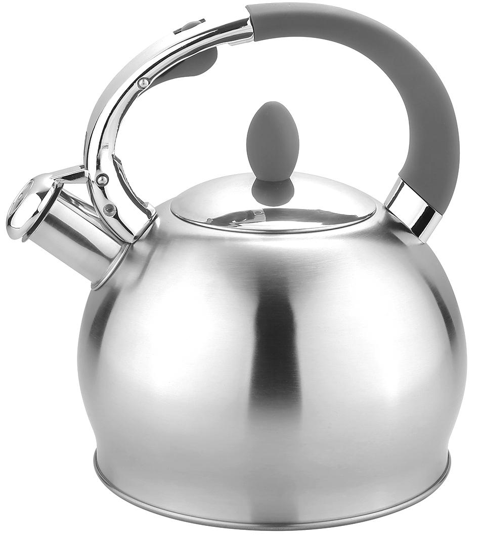 Чайник TimA, со свистком, 3 л. K-1609 кофемолка ручная tima сферическая кс 02