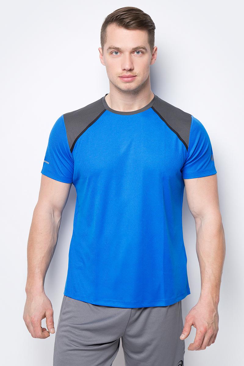 Футболка мужская Asics SS Top, цвет: синий. 154252-0819. Размер S (44) футболка element signature ss red
