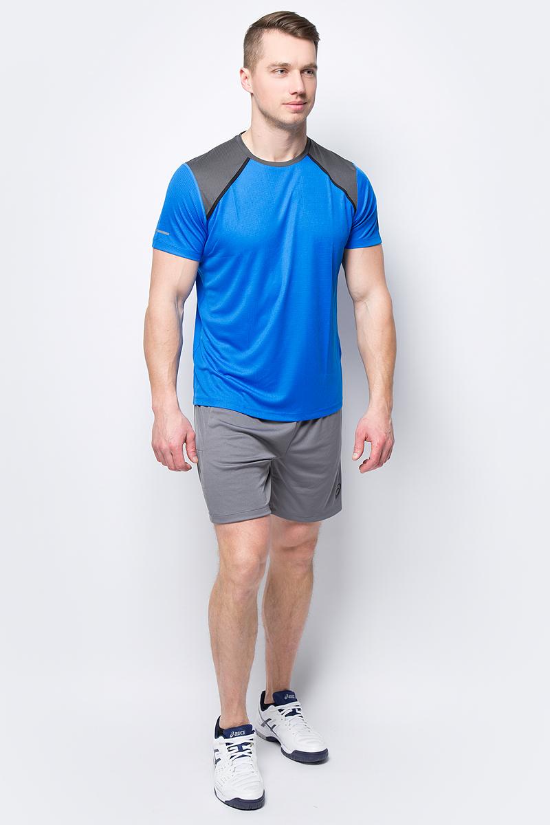 Футболка мужская Asics SS Top, цвет: синий. 154252-0819. Размер XXL (52) футболка asics футболка styled top