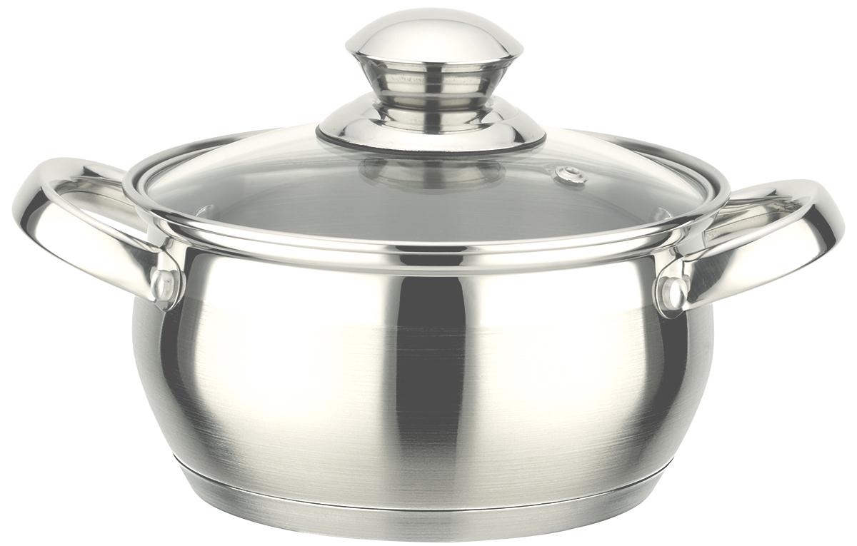 Кастрюля TimA Практичная, с крышкой, 1,8 л кофемолка ручная tima сферическая кс 02