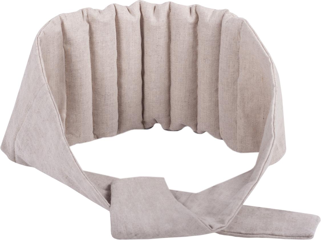 """Подушка Bio-Textiles """"Пояс. Забота"""", наполнитель: семена льна, 25 х 45 см"""