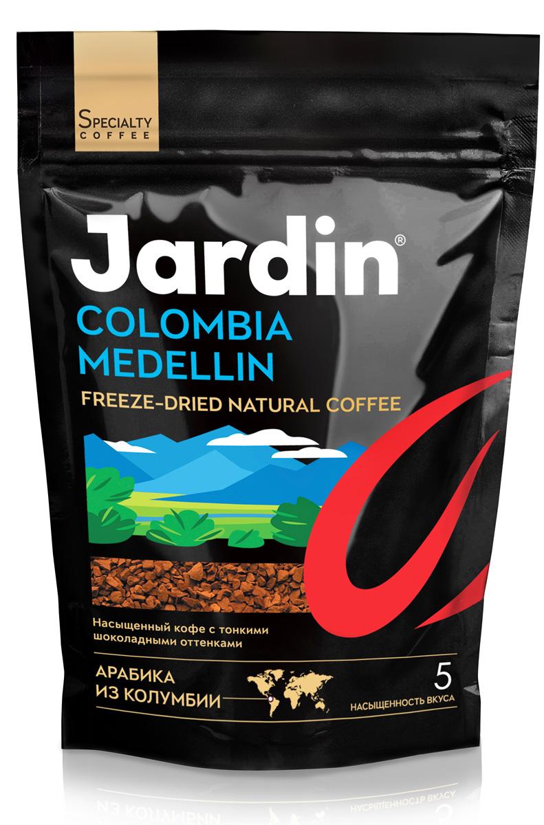 Jardin Colombia Medellin кофе растворимый, 280 г (м/у) jardin kenya kilimanjaro растворимый кофе 95 г стеклянная банка