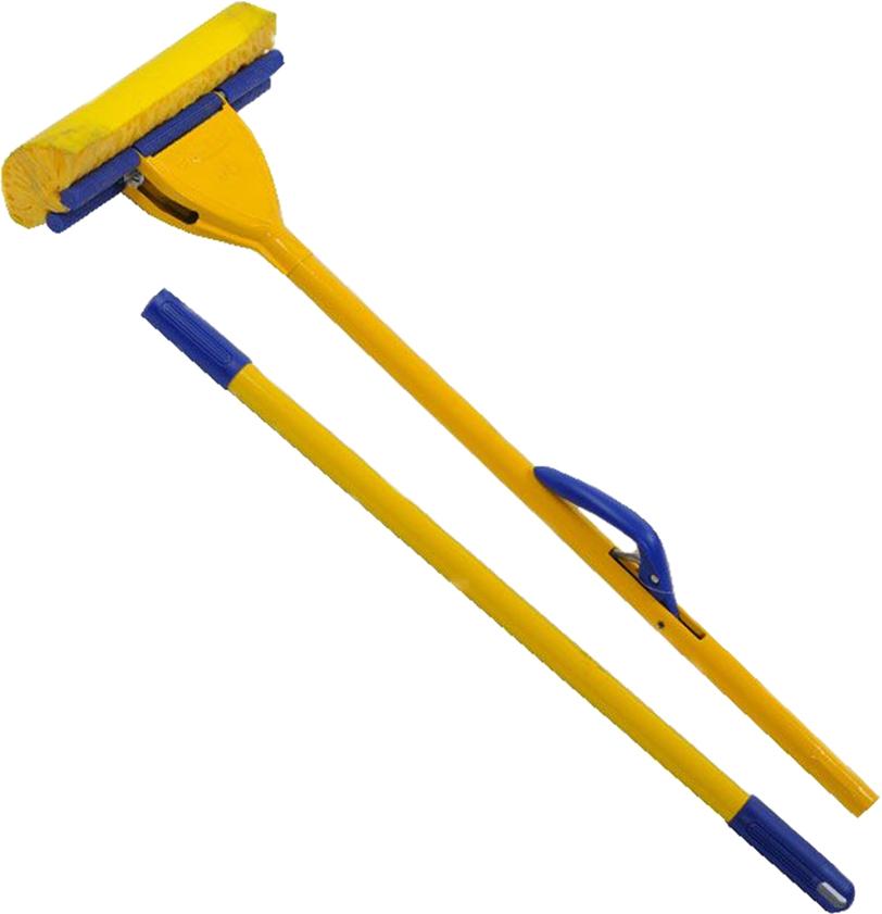 Швабра  Fratelli , с самоотжимом, цвет: желтый, 25 см -  Инвентарь для уборки