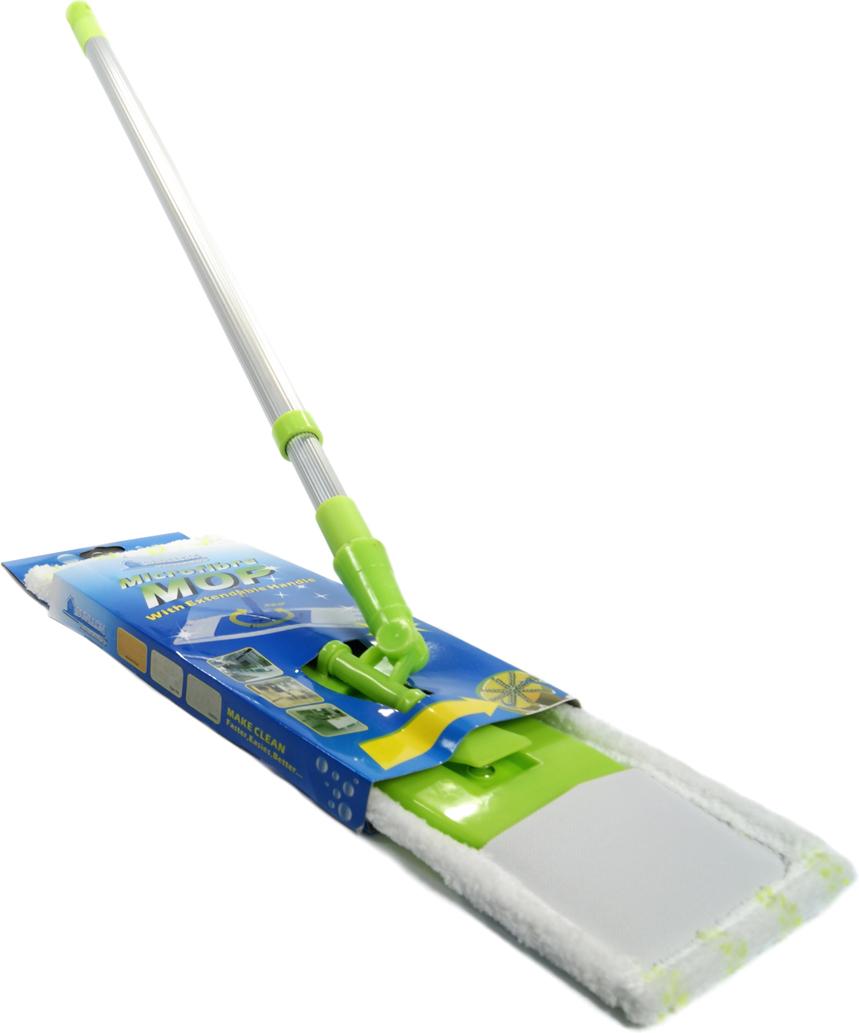 Швабра Sunllon, цвет: зеленый, белый. SLSUN1806SLSUN1806Швабра-моп из микрофибры с мелким ворсом и телескопической тростью может применяться для мытья любых моющихся поверхностей, в том числе стен. Для уборки пыли, грязи, крошек и волос. Поворотный механизм крепления облегчает уборку в труднодоступных местах.