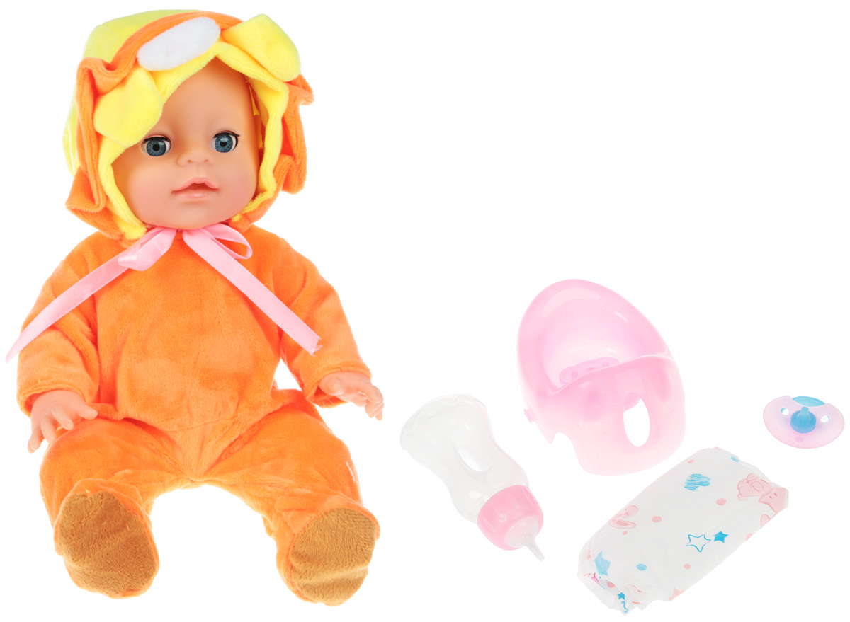 Lisa Jane Пупс с горшком цвет оранжевый 59464 цена