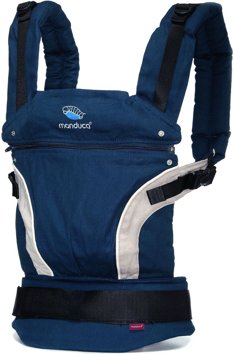 Manduca Рюкзак-переноска First цвет синий - Рюкзаки, слинги, кенгуру