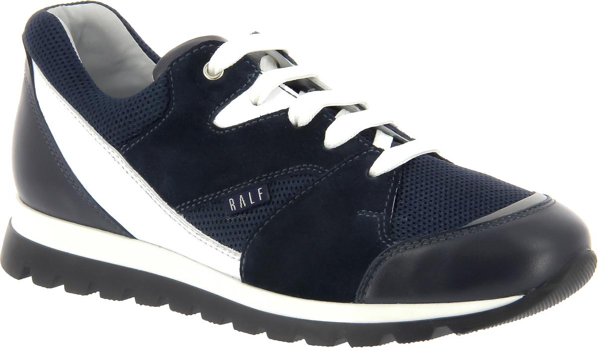Кроссовки детские Ralf Ringer, цвет: синий. 626105СБ. Размер 32626105СБСтильные детские кроссовки от Ralf Ringer выполнены из текстиля и натуральной кожи. Классическая шнуровка надежно фиксирует изделие на ноге. Кожаная стелька позволяет ногам дышать. Подошва с рифлением гарантирует отличное сцепление с поверхностью.
