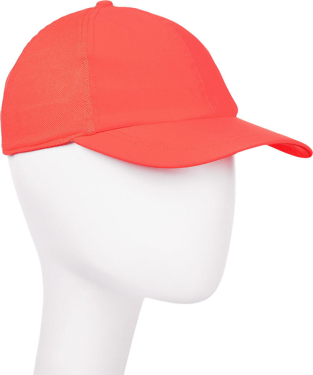 Бейсболка мужская Asics Essential Cap, цвет: коралловый. 155007-0698. Размер универсальный бейсболка the north facestreet ball cap цвет хаки t93ffkbqw размер универсальный