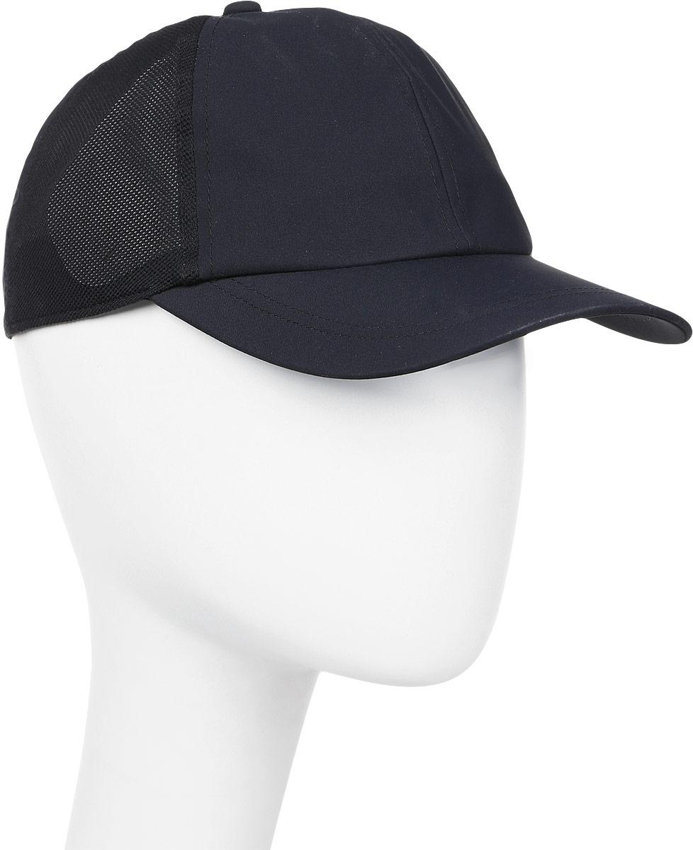 Бейсболка мужская Asics Essential Cap, цвет: черный. 155007-0904. Размер универсальный