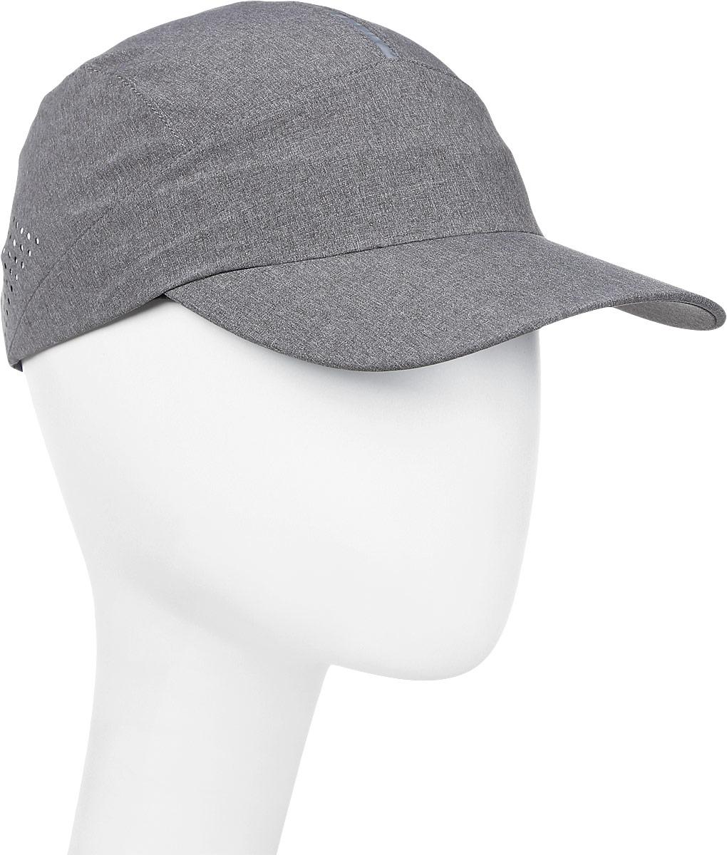 Бейсболка мужская Asics Running Cap, цвет: серый. 155010-0720. Размер 58 asics asics solid modified singlet page 1