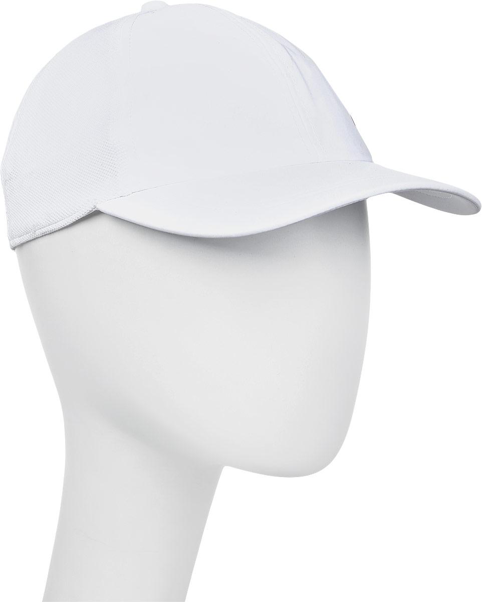 Бейсболка мужская Asics Essential Cap, цвет: белый. 155007-0014. Размер универсальный155007-0014
