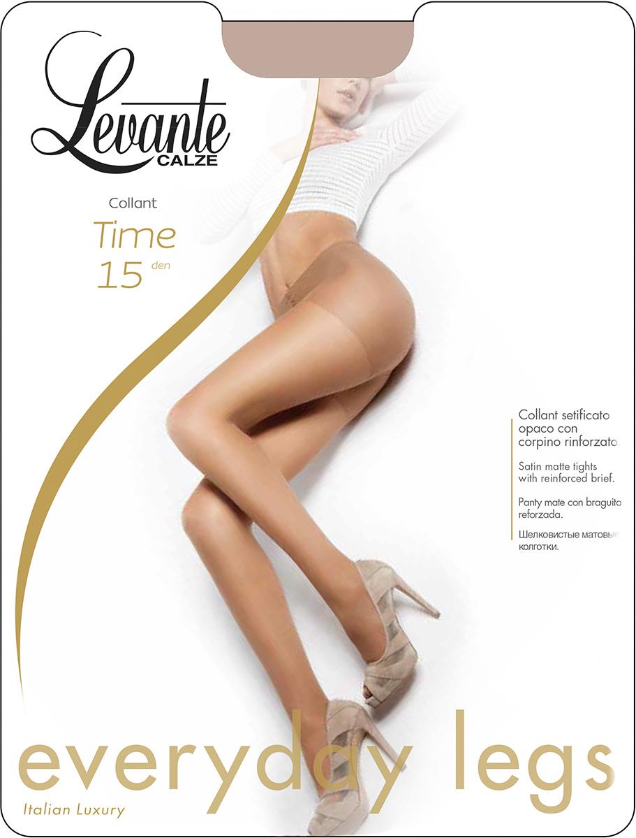 Колготки женские Levante Time 15 XXL, цвет: Naturel (бежевый). Размер 5 колготки женские levante time 15 xxl цвет fumo серый размер 5