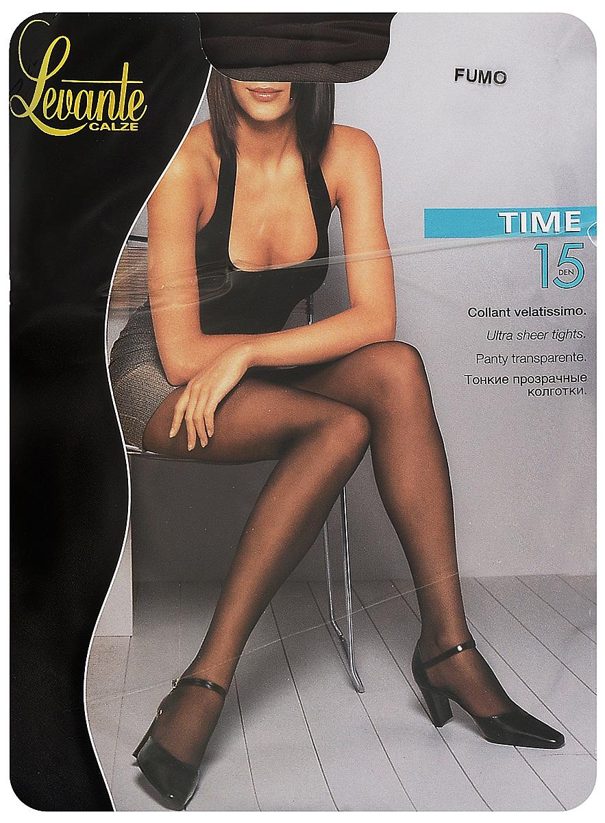 Колготки женские Levante Time 15 XXL, цвет: Fumo (серый). Размер 5 колготки женские levante time 15 xxl цвет fumo серый размер 5