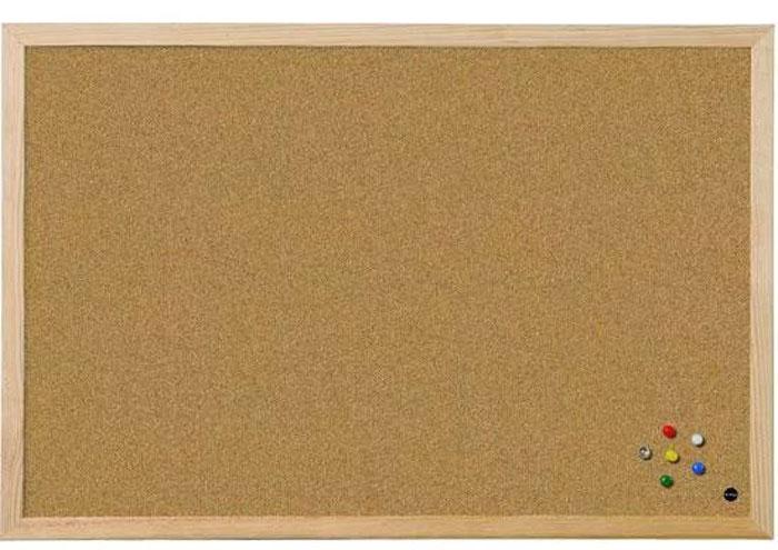 Доска пробковая Expert Complete, в деревянной рамке, 60 х 90 см577020Пробковая доскав деревянной рамке предназначена для размещения наглядных материалов при проведении презентации, обучающего занятияили как удобное средство визуальных коммуникаций. Информацию можно крепить к доске при помощи силовых кнопок, гвоздиков, флажков.Поверхность, выполненная из высококачественной натуральной пробки, легко восстанавливается после удаления кнопки, поэтому такие доскипрактичны и долговечны