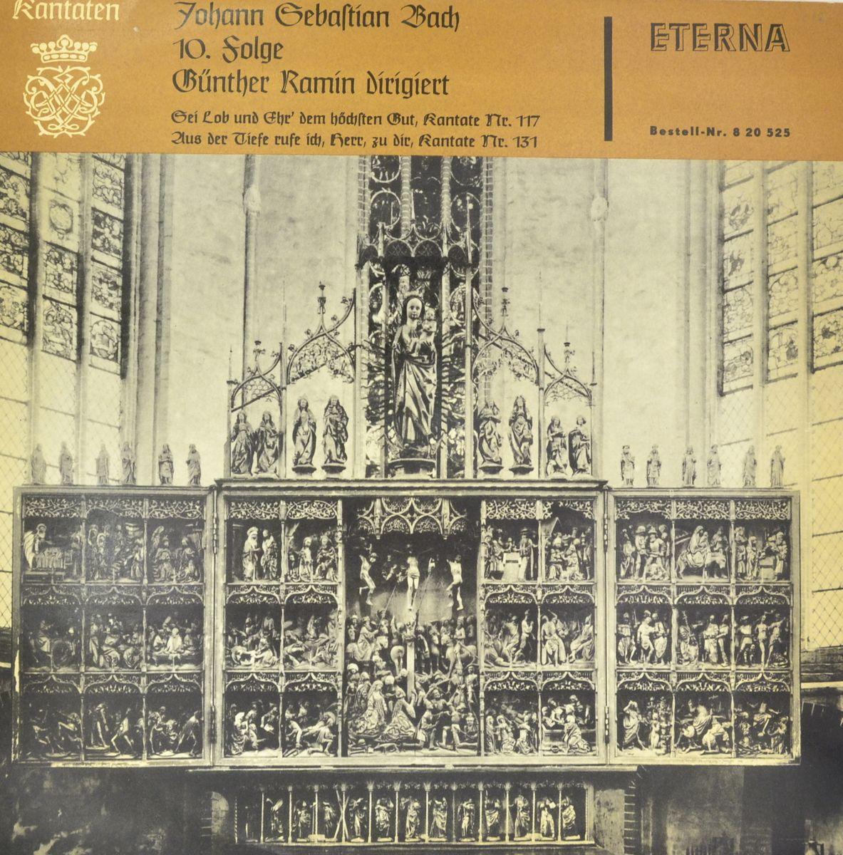 Johann Sebastian Bach, Gunther Ramin – Kantaten 10. Folge (LP) stefan hussong johann sebastian bach goldberg variations