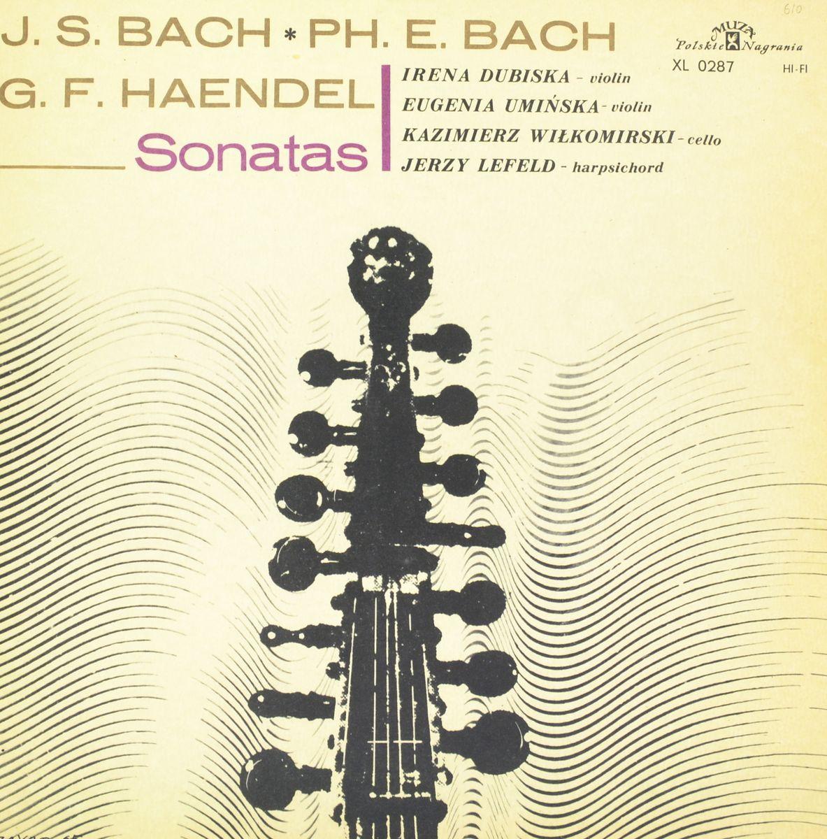 Johann Sebastian Bach, Georg Friedrich Handel – Sonatas (LP) bach bachyo yo ma chris thile edgar meyer trios 2 lp