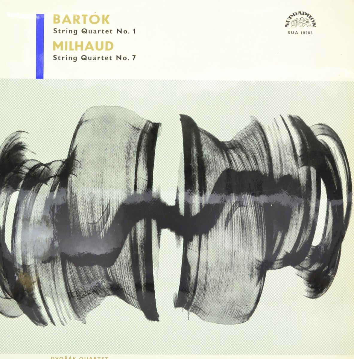 Dvorak Quartet, Bartok, Milhaud – String Quartet No. 1 / String Quartet No. 7 (LP) dani yard quartet