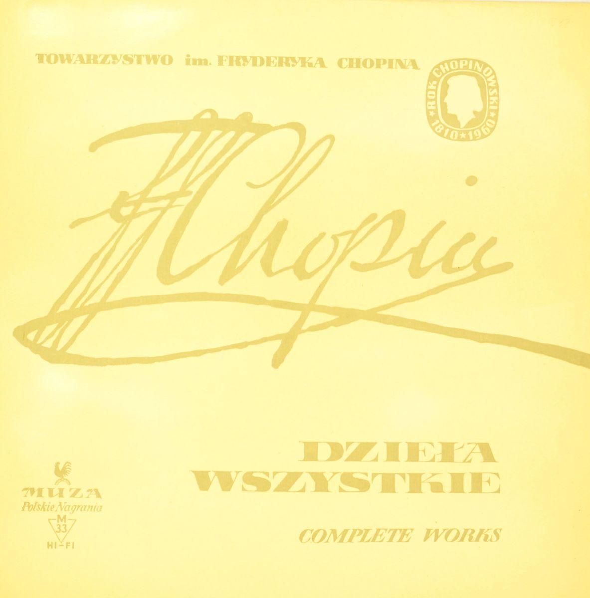 F. Chopin, Henryk Sztompka – Dziela Wszystkie - Complete Works Vol. 2 (LP)
