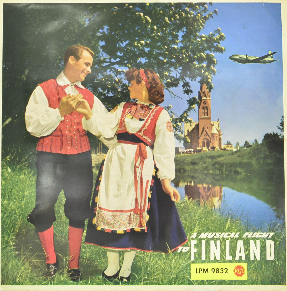 A Musical Flight To Finland (LP) flight fthp 14