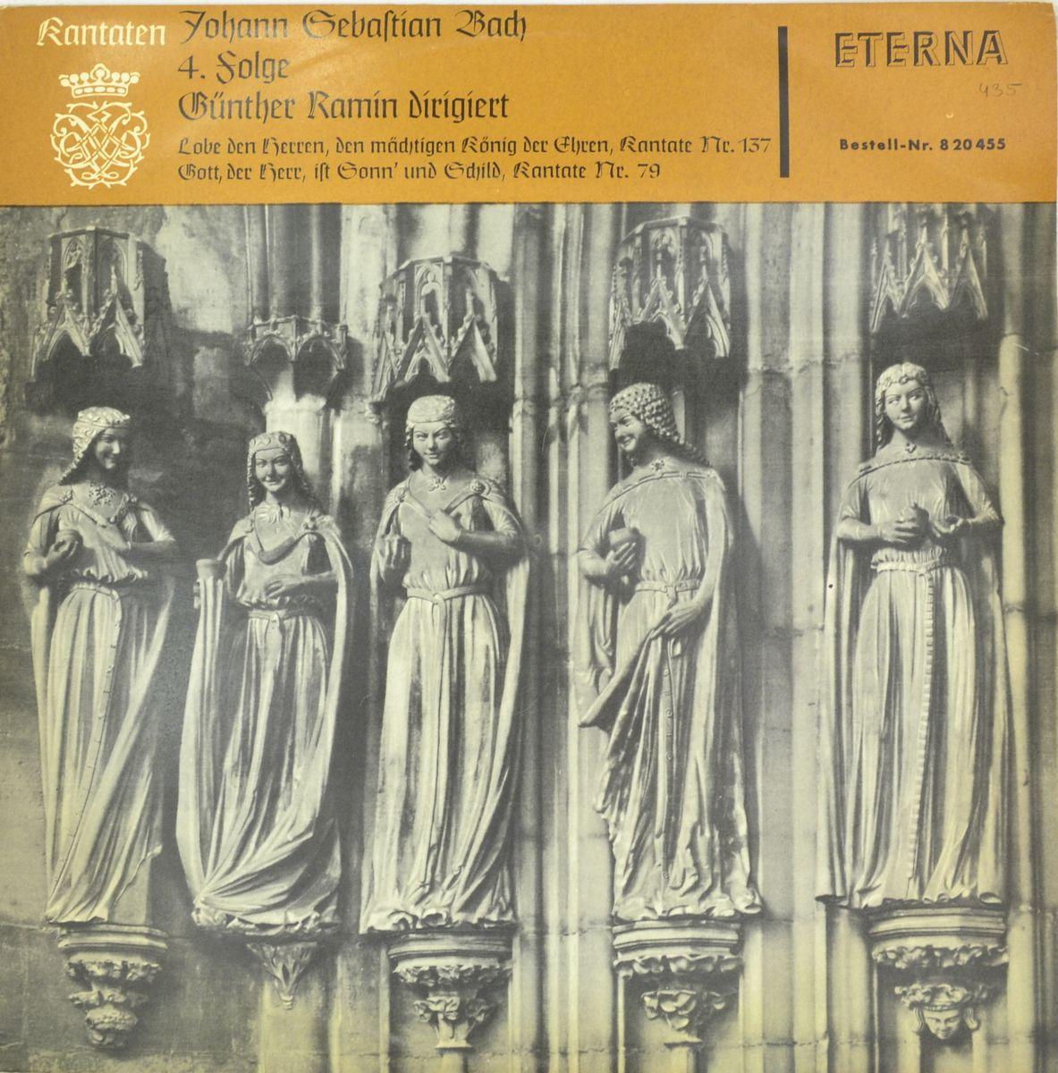 Johann Sebastian Bach – Kantaten 4. Folge (LP) stefan hussong johann sebastian bach goldberg variations