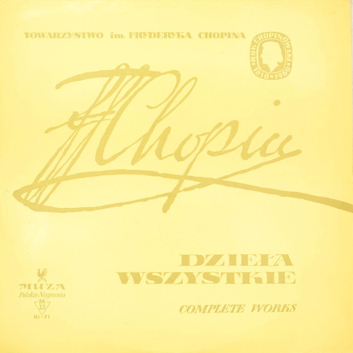 Zakazat.ru: Fryderyk Chopin – Henryk Sztompka – Dziela Wszystkie. Complete Works - Wszystkie Mazurki. Complete Mazurkas Vol. I (LP)