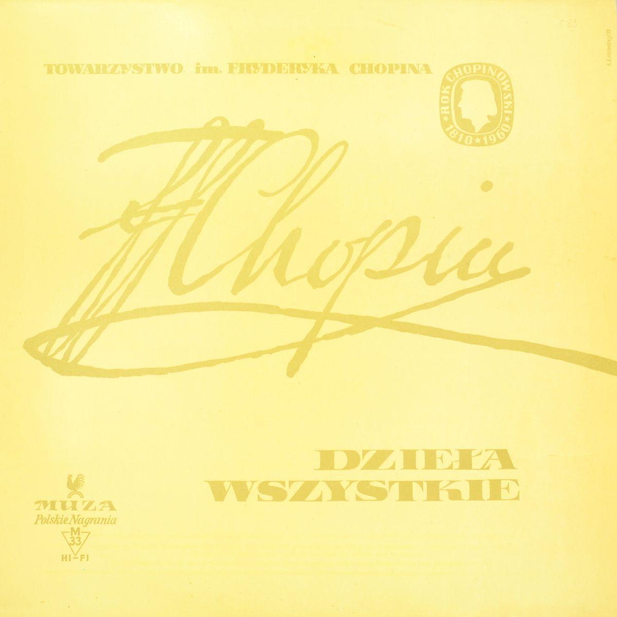Fryderyk Chopin – Dziудa Wszystkie (Complete Works) - Mazurki Wszystkie Vol. III (LP)