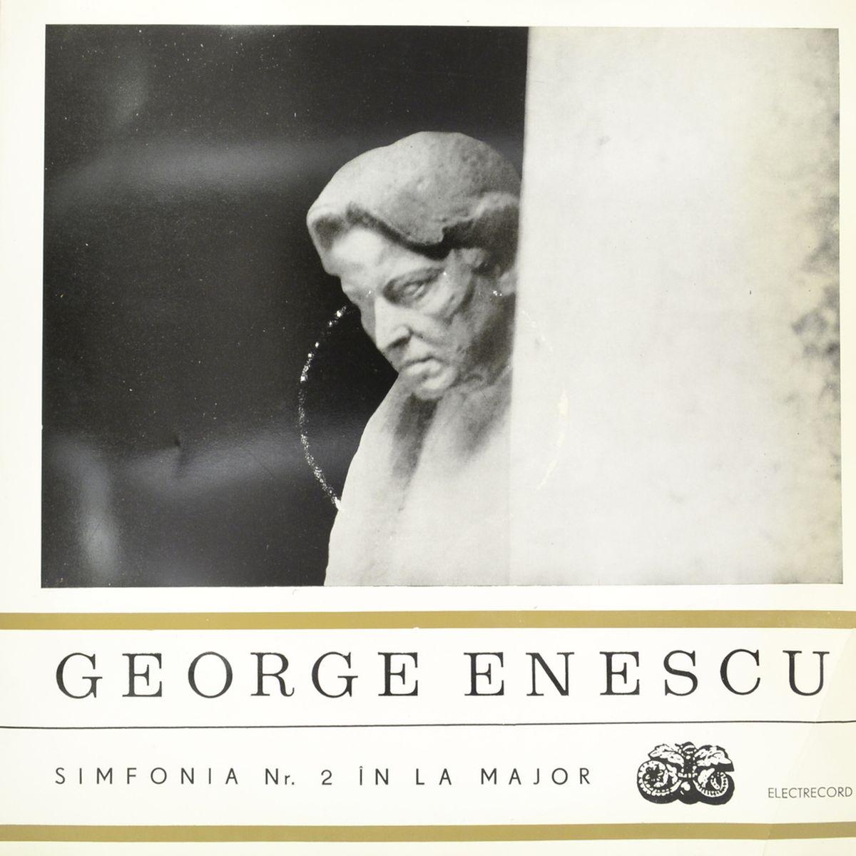 Zakazat.ru: George Enescu – Simfonia Nr. 2 In La Major (LP)