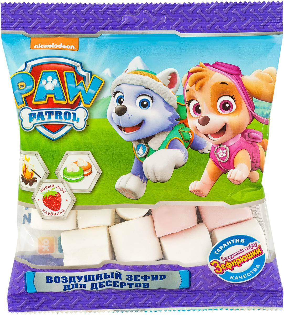 Paw Patrol воздушный зефир для десертов, 80 г paw patrol шоколадные медали 21 г по 24 шт