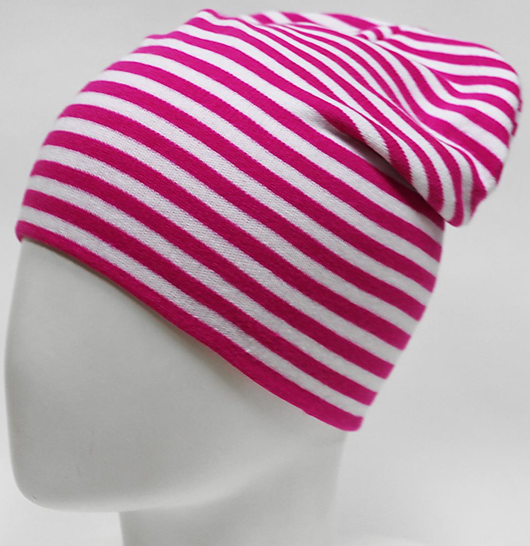 Шапка для девочки Elfrio, цвет: белый, розовый. RFH7527/3. Размер 55/56