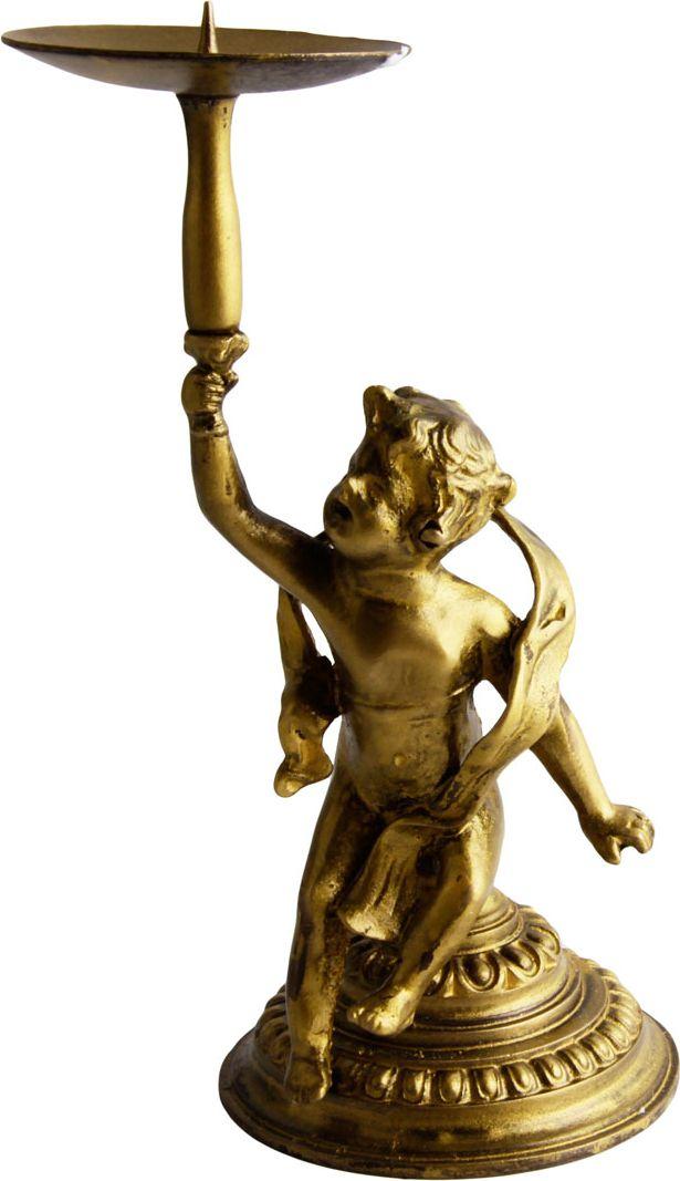 Подсвечник Путти. Металл, прочеканка. Франция, вторая половина XX века хвойное украшение подсвечник 50 см