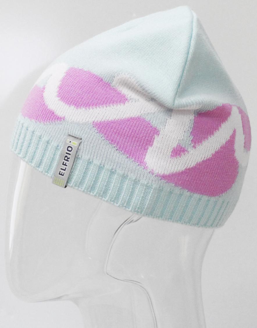 Шапка для девочки Elfrio, цвет: бирюзовый. RFH7146. Размер 55/56RFH7146Стильная шапка для девочки Elfrio выполнена из акрила разной вязки. Шапка с интересным рисунком подойдет для прогулок в прохладную погоду. Уважаемые клиенты!Размер, доступный для заказа, является обхватом головы.