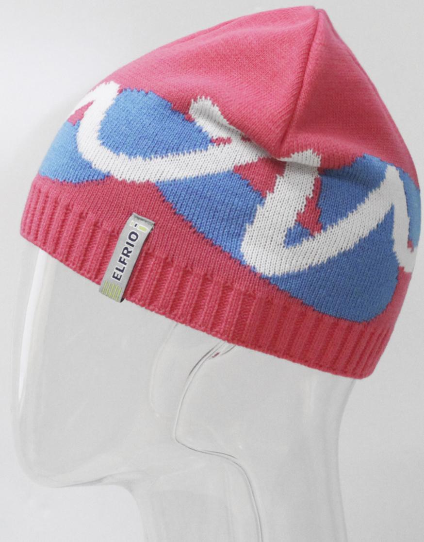 Шапка для девочки Elfrio, цвет: красный. RFH7146. Размер 55/56RFH7146Стильная шапка для девочки Elfrio выполнена из акрила разной вязки. Шапка с интересным рисунком подойдет для прогулок в прохладную погоду. Уважаемые клиенты!Размер, доступный для заказа, является обхватом головы.