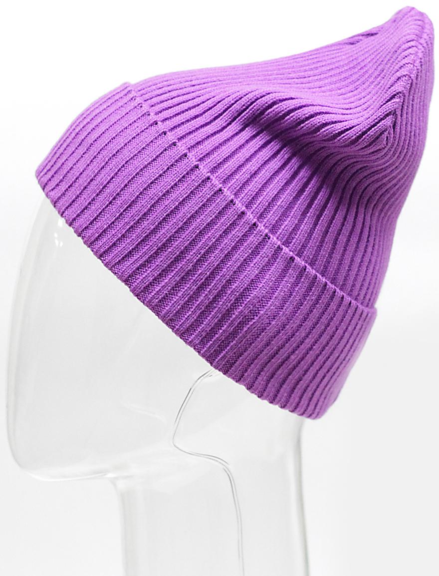 Шапка для девочки Elfrio, цвет: фиолетовый. RFH7139. Размер 55/56 шапка young reporter для девочки цвет бежевый