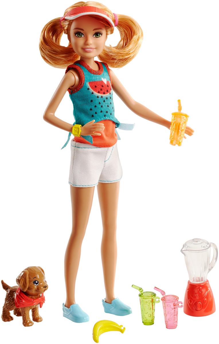 Barbie Игровой набор с куклой Стейси и щенок barbie basics с рук