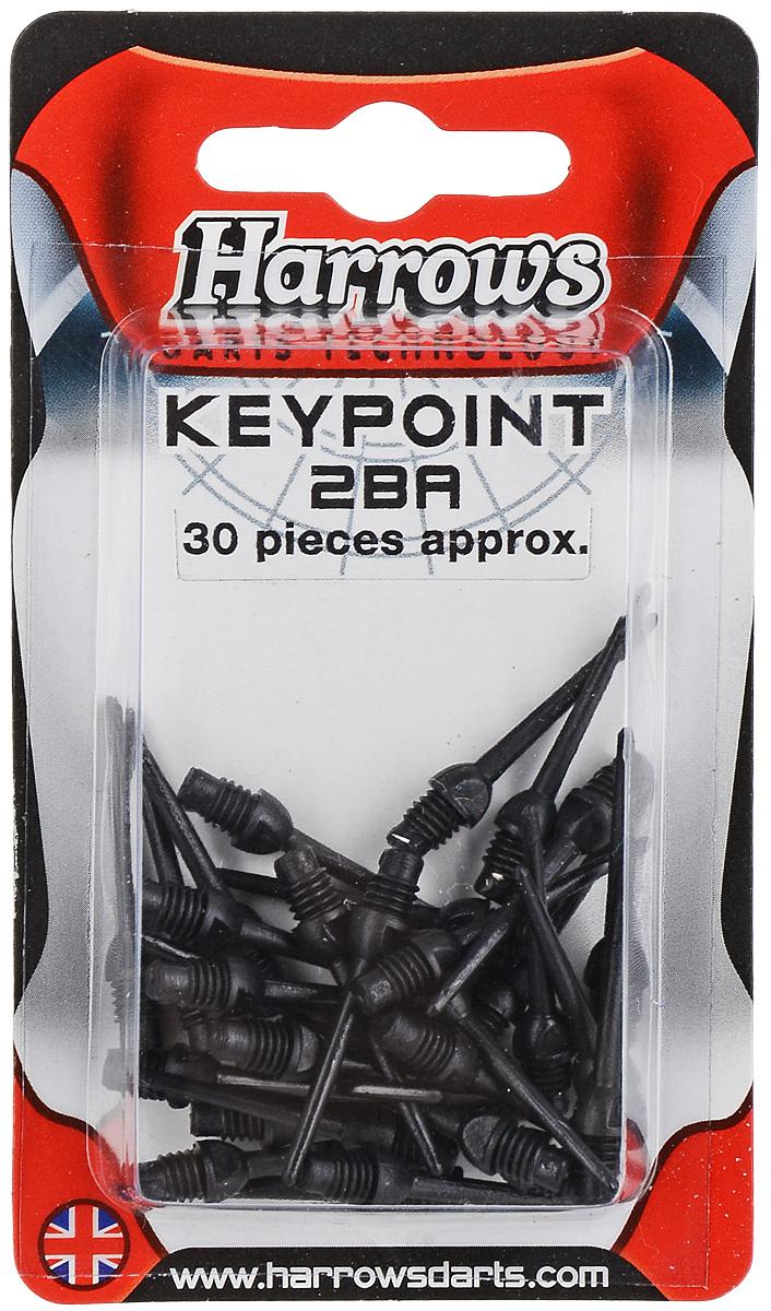 Иглы для дротиков запасные Harrows Софтип Кейпойнт, цвет: белый, 30 шт harrows хвостовики harrows aluminium