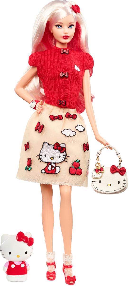 Barbie Коллекционная кукла Hello Kitty урна hello kitty 303
