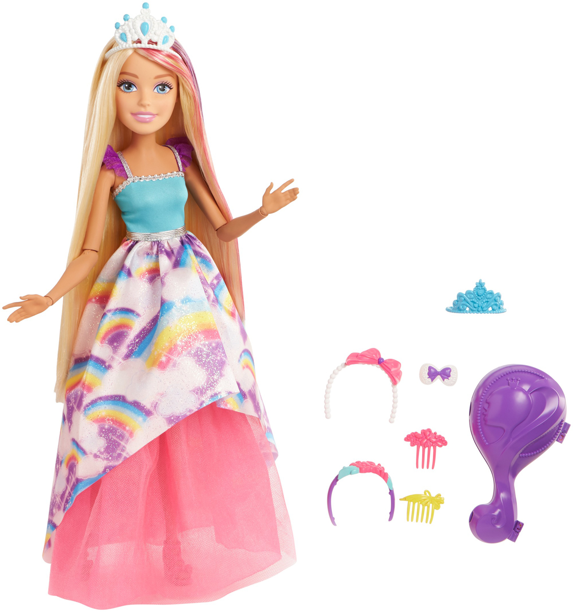 Barbie Кукла Принцесса FMV95 наборы аксессуаров для волос esli комплект аксессуаров для волос light yellow