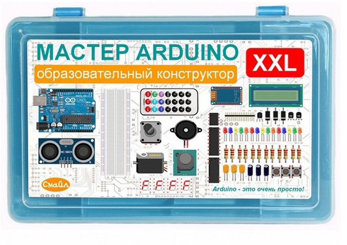 Смайл Образовательный конструктор Мастер Arduino XXL
