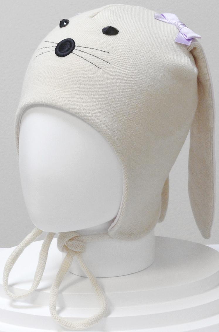 Шапка для девочки Marhatter, цвет: светло-бежевый. MGU6328/5. Размер 50/52MGU6328/5Шапка Marhatter забавной формы порадует любого ребенка. Модель выполнена из полушерстяной пряжи, на хлопковой подкладке. Уважаемые клиенты!Размер, доступный для заказа, является обхватом головы.