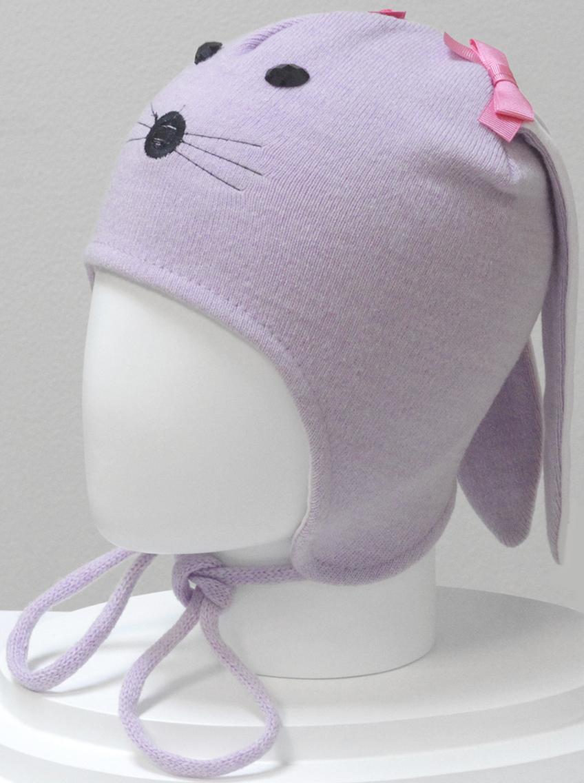 Шапка для девочки Marhatter, цвет: розовый. MGU6328/5. Размер 50/52MGU6328/5Шапка Marhatter забавной формы порадует любого ребенка. Модель выполнена из полушерстяной пряжи, на хлопковой подкладке. Уважаемые клиенты!Размер, доступный для заказа, является обхватом головы.
