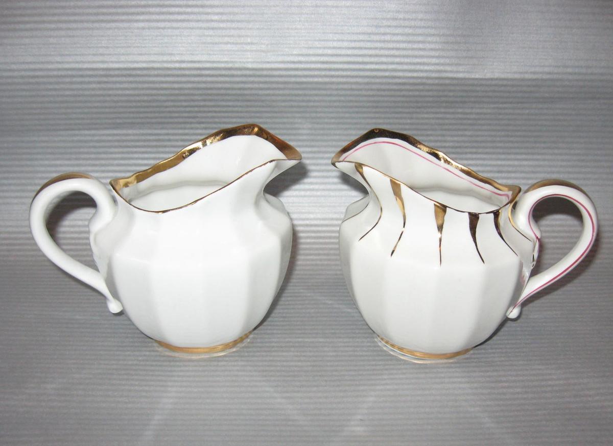 Этот интересный вид посуды был изобретен специально для того, чтобы красиво и аппетитно подавать на стол сливки или молоко к чаю, кофе, супу или фруктам.