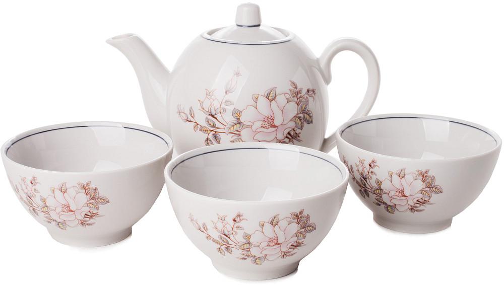 Сервиз чайный Фарфор Вербилок Контесса. 4670610 наборы и сервизы