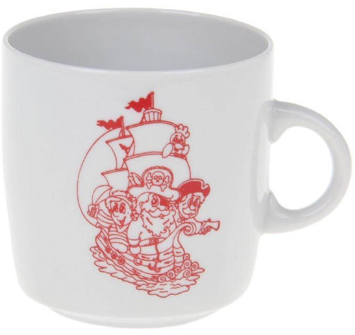 Кружка Фарфор Вербилок Пираты. 8713380 кружка фарфор вербилок знаки зодиака 250 мл